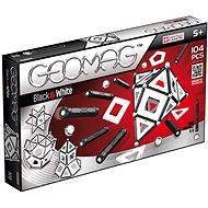 Geomag – Panels black/white 104 dielikov - Magnetická stavebnica