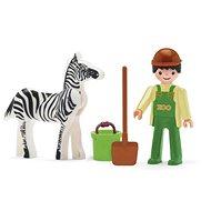 IGRÁČIK – Ošetrovateľ a zebra - Herný set