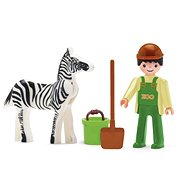 IGRÁČIK – Ošetrovateľ a zebra