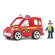 IGRÁČIK Multigo - Hasičské auto s hasičom - Herný set