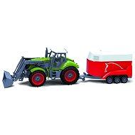 BRC 28611 Farm Traktor s prívesom na kone - RC model