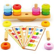 Skladačka - Balančné drevo - Didaktická hračka