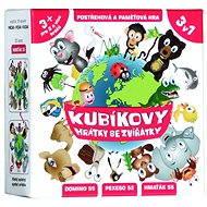 Kubíkové hrátky so zvieratkami - Spoločenská hra