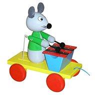 Ťahacia myš so xylofónom - Ťahacia hračka