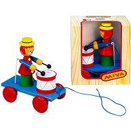 Ťahací šašo s bubnom - Ťahacia hračka