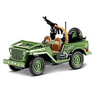 Cobi Jeep Willys Green - Stavebnica