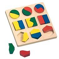 Bino Puzzle – Geometrické tvary - Puzzle
