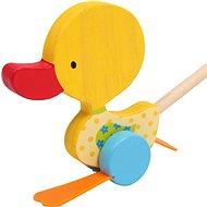 Ťahacie hračky – kolísavá kačica Tine - Ťahacia hračka