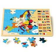 Vkladacie puzzle – Európske štáty - Didaktická hračka