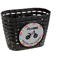 FirstBike košík čierny - Košík na bicykel
