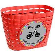 FirstBike košík červený - Košík na bicykel