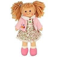 Bigjigs Látková bábika Poppy - Bábika