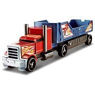 Hot Wheels Havarujúci ťahač červeno-modrý - Herný set