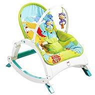 Mattel Fisher Price - Skladacie sedátko Rainforest 3 v 1 - Detské ležadlo