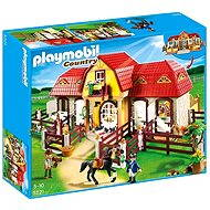 Playmobil 5221 Veľká konská farma s výbehom - Stavebnica
