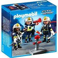 Playmobil 5366 Tím hasičov - Stavebnica