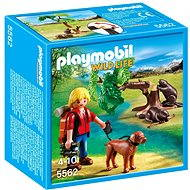 Playmobil 5562 Prírodovedec s bobrami - Stavebnica