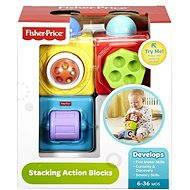 Fisher-Price Akčné kocky - Didaktická hračka