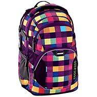 CoocaZoo JobJobber Melange A Trois Pink - Školský ruksak