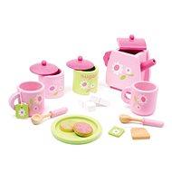 Drevená čajová súprava - Rose - Herný set