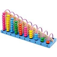Guľôčkové drevené počítadlo Profi - Didaktická hračka