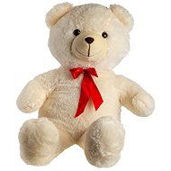 Medveď s mašľou – béžový - Plyšová hračka