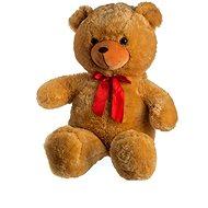 Medveď s mašľou - svetlo hnedý - Plyšová hračka