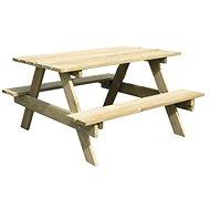 Stolček s 2 lavicami PIC-NIC - Detský nábytok