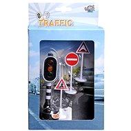 Funkčný semafor a dopravné značky - Príslušenstvo pre autodráhu