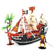 Pirátska loď s doplnkami - Stavebnica