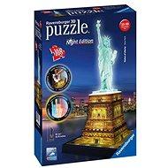 Ravensburger Socha Slobody - Nočná edícia 3D - Puzzle
