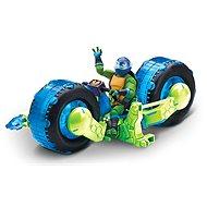 Motorka s figúrkou modrá - Auto