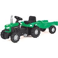 Šlapací traktor s vozíkem - Šliapací traktor