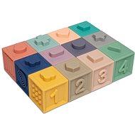 Hračka pre najmenších Canpol babies Mäkké hracie kocky 12 ks