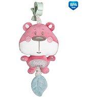Canpol babies Ružový medvedík - Hračka pre najmenších
