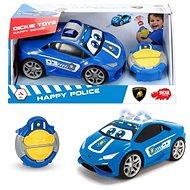 Dickie IRC Happy policajné - RC auto na diaľkové ovládanie
