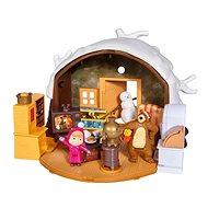 Domček pre bábiky Simba Máša a medveď Zimný dom medveďa