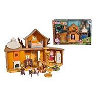 Simba Máša a medveď Veľký dom medveďa - Domček pre bábiky