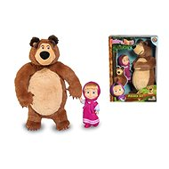Simba Máša a medveď, Sada Míša plyšový a Máša - Plyšová hračka