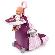 Smoby Baby Nurse Nursery kufřík 3v1 - Doplnok pre bábiky