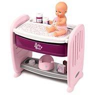 Smoby Baby Nurse 2 v 1 postieľka/prebaľovací pult - Doplnok pre bábiky