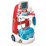 Smoby Lekársky vozík elektronický - Herná sada