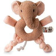 Ebu Slon ružový Hrkálka - Hrkálka