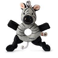 Ziko Zebra sivá Hrkálka - Hrkálka