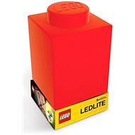 LEGO Classic Silikónová kocka –  červená - Nočné svetlo