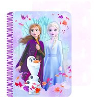 Ľadové kráľovstvo II zápisník 3D - Zápisník