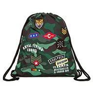 Vak na chrbát CoolPack Camo Green Badges - Vrecko