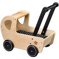 Kočík drevený Neo natural - Kočík pre bábiky