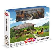 Buddy Toys BGA 1021 Farma – prístrešok - Herná sada