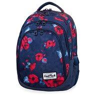 CoolPack Drafter Red poppy - Školský batoh